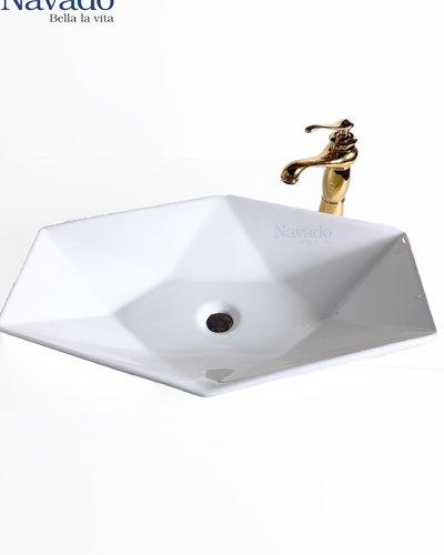 chậu rửa mặt Lavabo Sứ nghệ thuật RS 1077