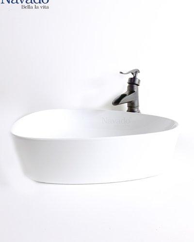 Chậu rửa mặt Lavabo Sứ nghệ thuật RS-1015