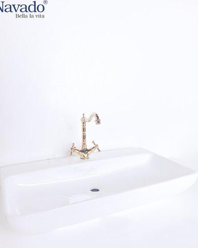 Chậu rửa mặt Lavabo sứ nghệ thuật RS 1168