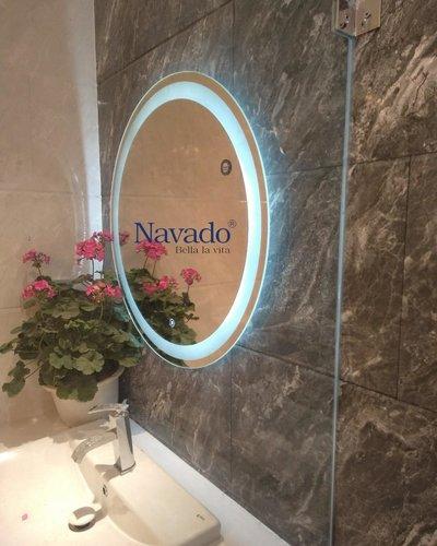 Gương trang trí led phòng tắm 80cm