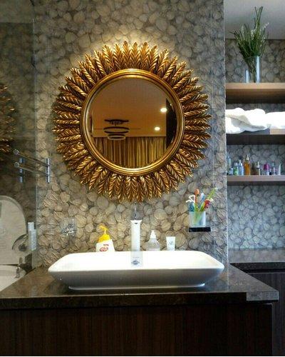 Gương phòng tắm khung tân cổ điển Hà Nội