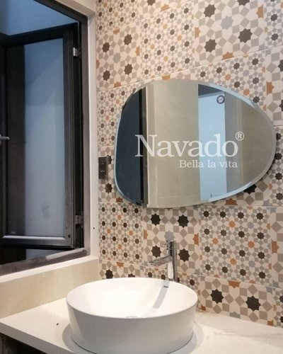 Gương phòng tắm mài vát Nav-109C
