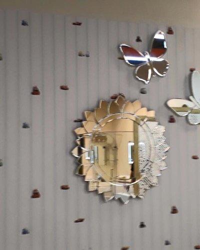 Gương decor butterflies
