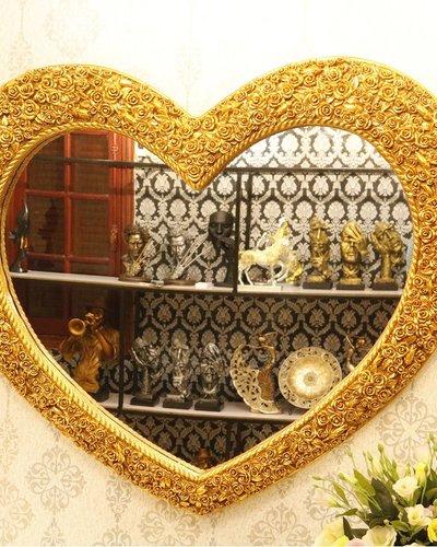 Gương nghệ thuật treo tường trái tim Muse