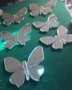 Gương decor butterfly Art