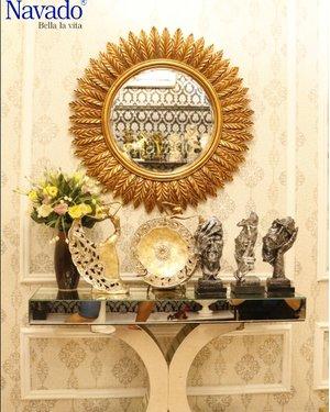 Gương phòng khách tân cổ điển Gea