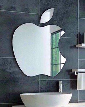 Gương decor nghệ thuật Apple