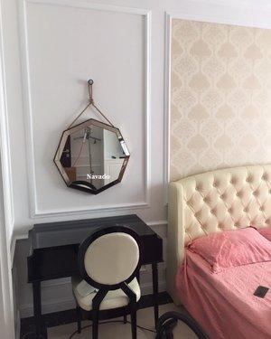 Gương lục giác treo tường decor navado