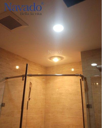 Sản xuất đèn sưởi phòng tắm âm trần mùa đông Navado