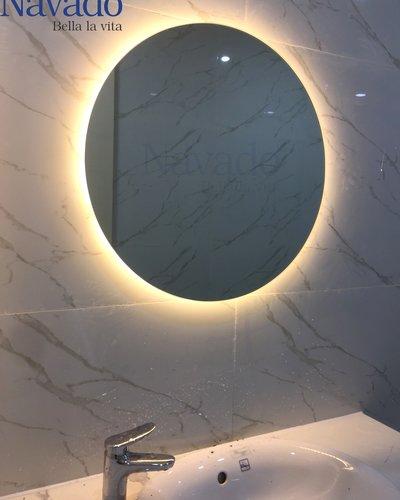 Gương bỉ phòng tắm đèn led 60cm navado