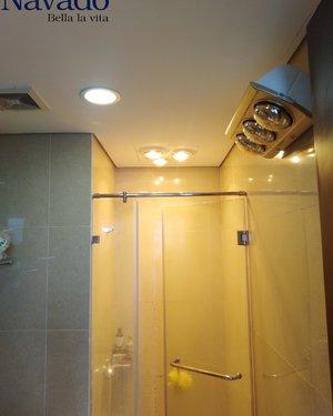 Đèn sưởi nhà tắm 3 bóng Nav-803