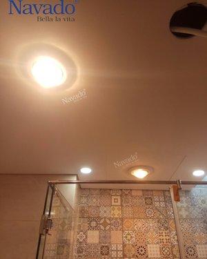 Đèn sưởi âm trần  mùa đông phòng tắm navado
