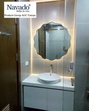 Gương led phòng tắm cao cấp Rainbow