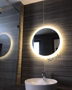 Gương đèn led phòng tắm navado hà nội