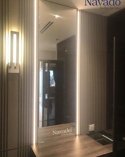 Gương gắn đèn led soi toàn thân