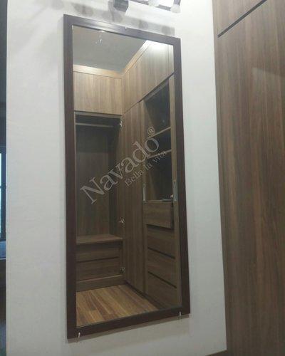 Gương soi toàn thân khung gỗ cao cấp