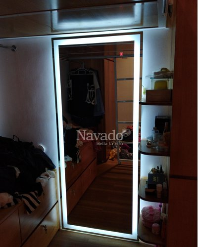 Gương soi toàn thân đèn led Navado