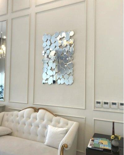 Gương trang trí treo tường phòng khách Navado