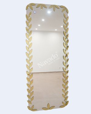 Gương toàn thân  treo tường Amazon (Gold)