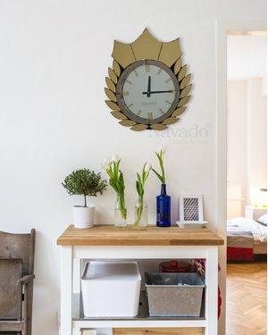 Đồng hồ treo tường phòng khách nghệ thuật Cali