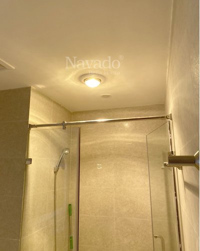 Đèn sưởi hồng ngoại 1 bóng âm trần Nav-6010