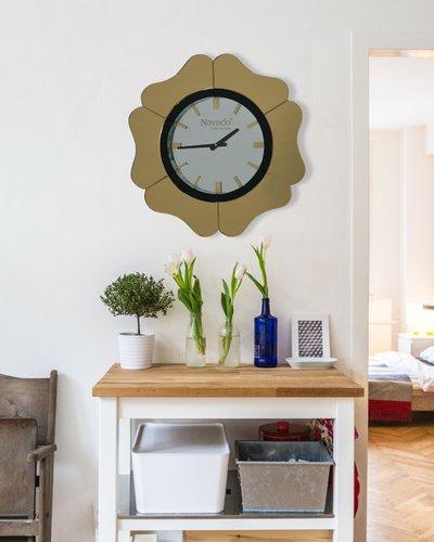 Đồng hồ treo tường cao cấp Gerber (gold)