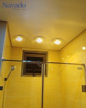 Đèn sưởi âm trần 3 bóng phòng tắm Navado