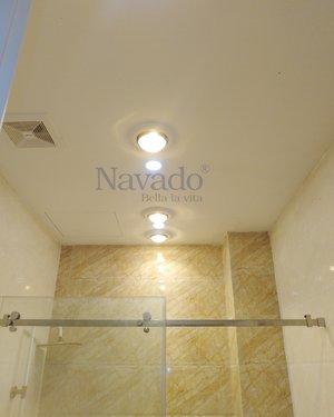 Đèn sưởi màu đông âm trần 3 bóng Navado