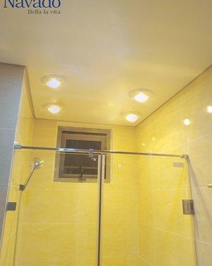 Đèn sưởi âm trần nhà tắm 4 bóng Nav-6014
